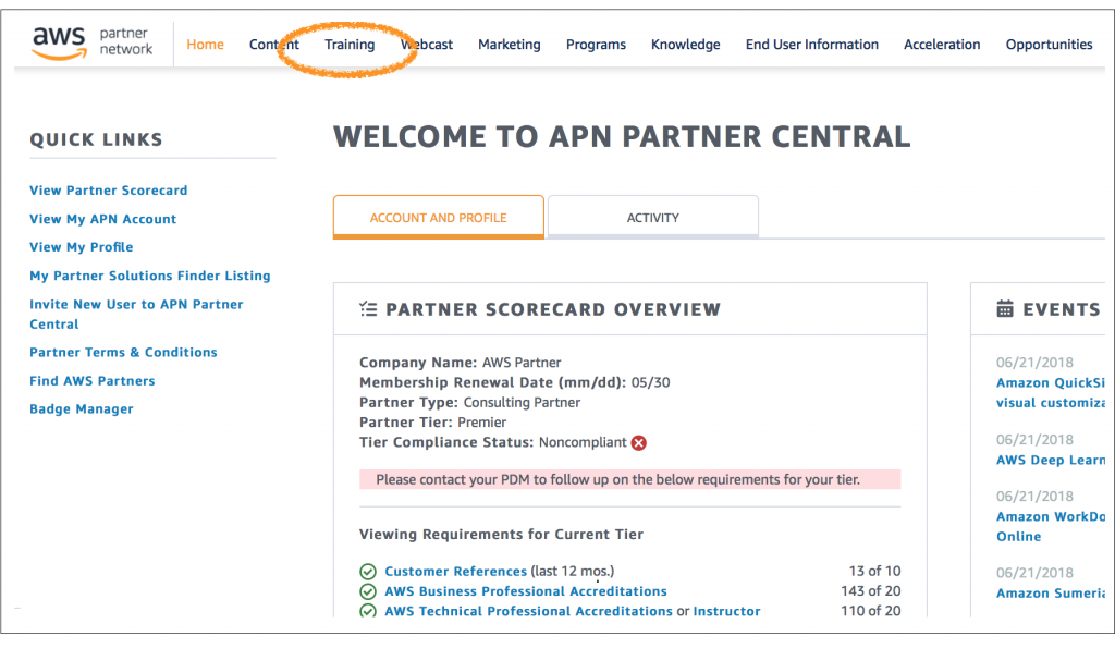 Why APN Partners Should Register for AWS Training and Certification ...