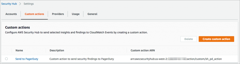 security-hub-custom-action-list