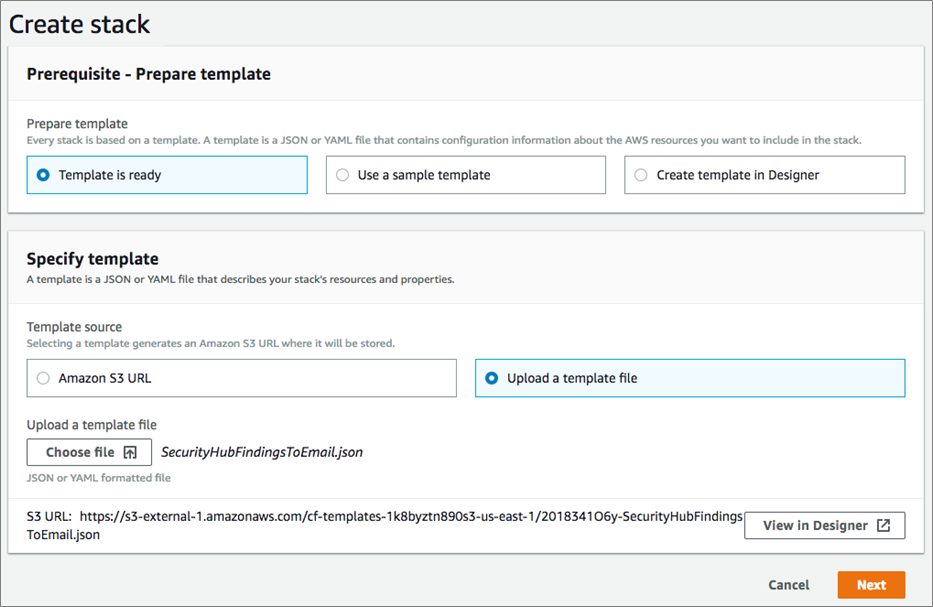 How to Enable Custom Actions in AWS Security Hub | AWS