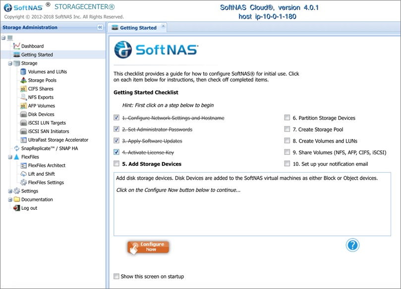 SoftNAS Storage-5