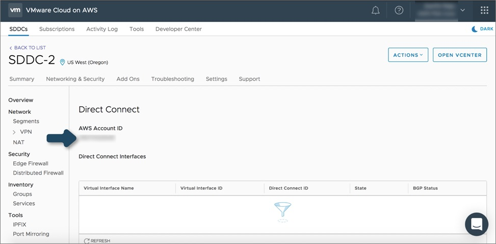 VMware Direct Connect-2
