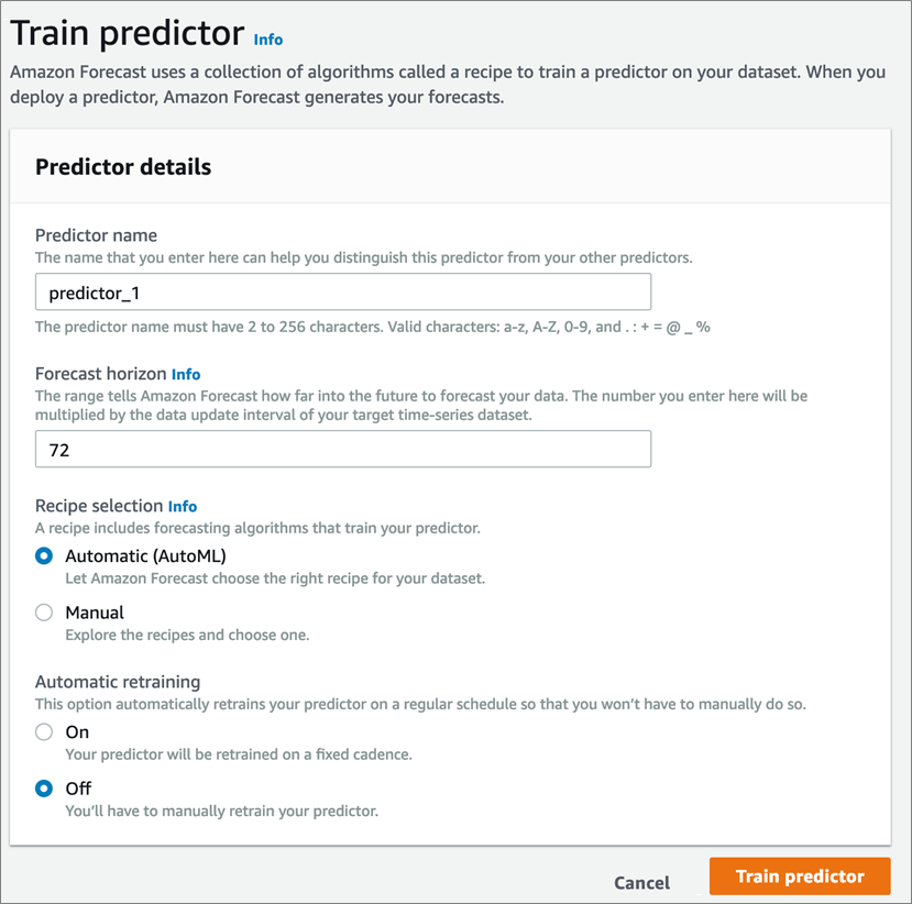 Introducing Amazon Forecast and a Look into the Future of