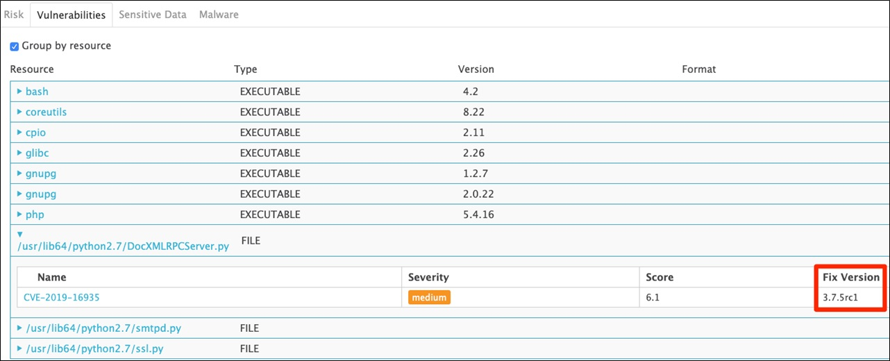 AquaSecurity DevSecOps Part2 Fig7 OtherVulnerabilities