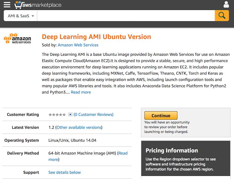deep-learning-ami-for-ubnutu