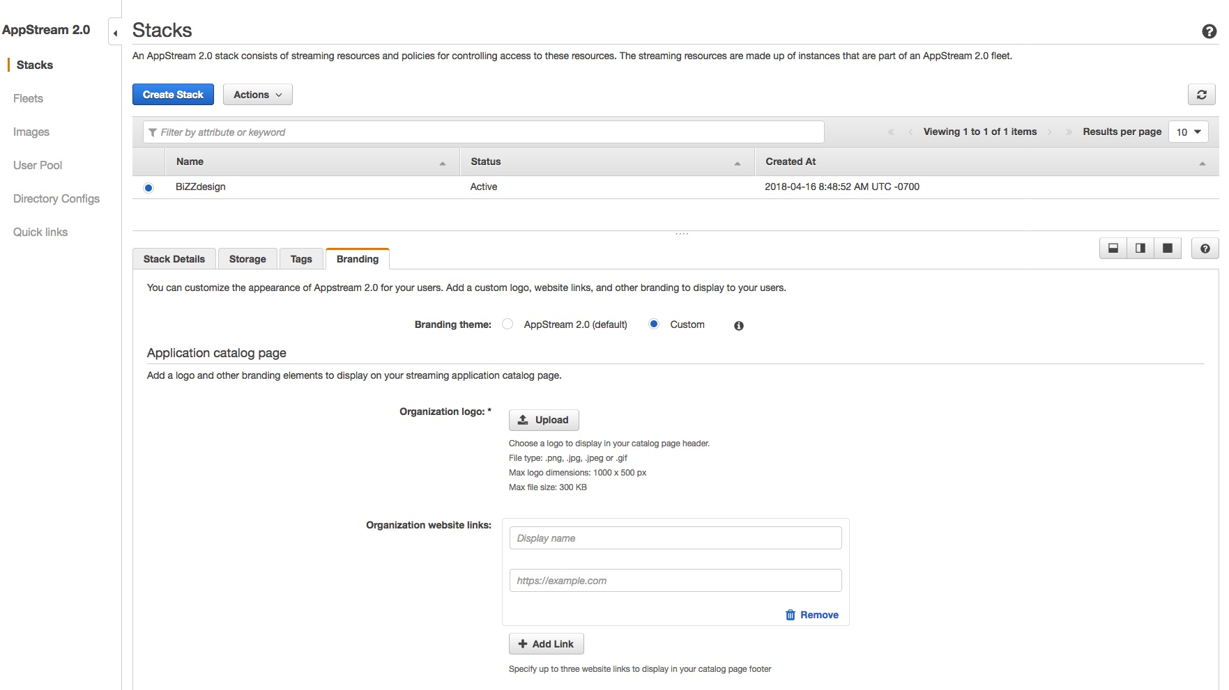 Amazon Com Applicationhelp >> Customize Amazon Appstream 2 0 With Your Own Brand Desktop