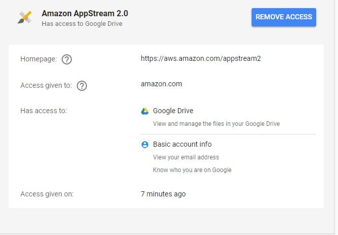 amazon drive google photos