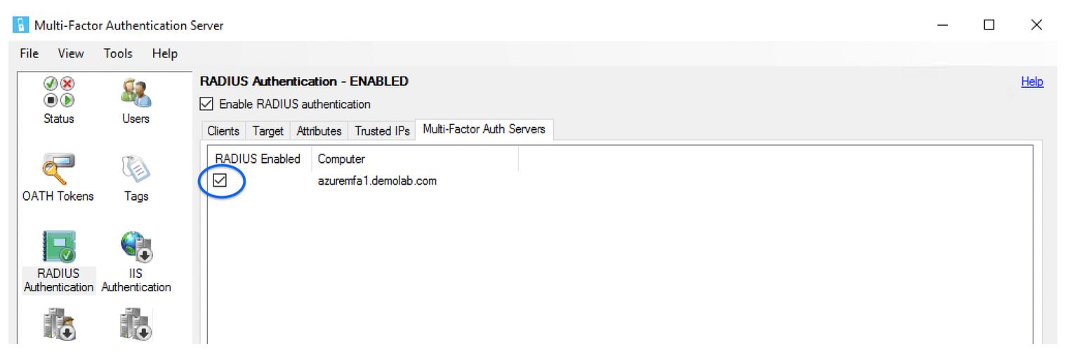 Integrating Microsoft Azure MFA Server with Amazon