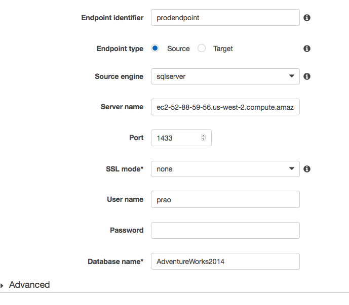 Cross-Engine Database Replication Using AWS Schema Conversion Tool and