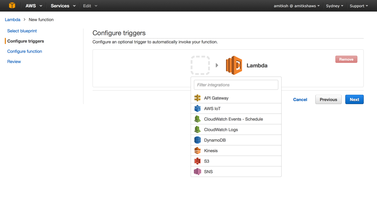 ConfigureTriggersNext