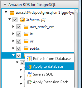 Migrate Your Procedural SQL Code with the AWS Schema