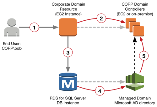 Integrate Amazon Rds For Sql Server Db Instances With An