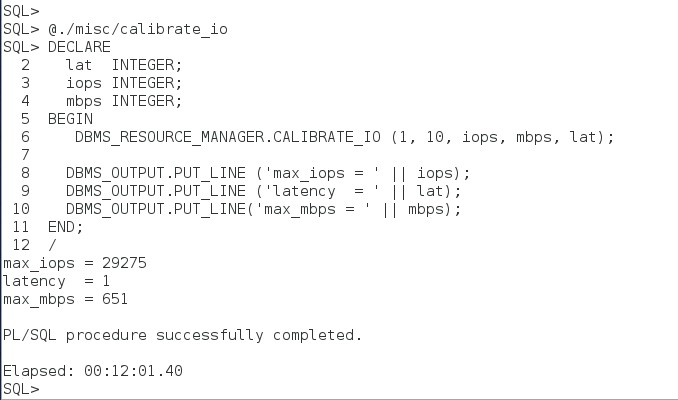 Testing Amazon RDS for Oracle: Plotting Latency and IOPS for