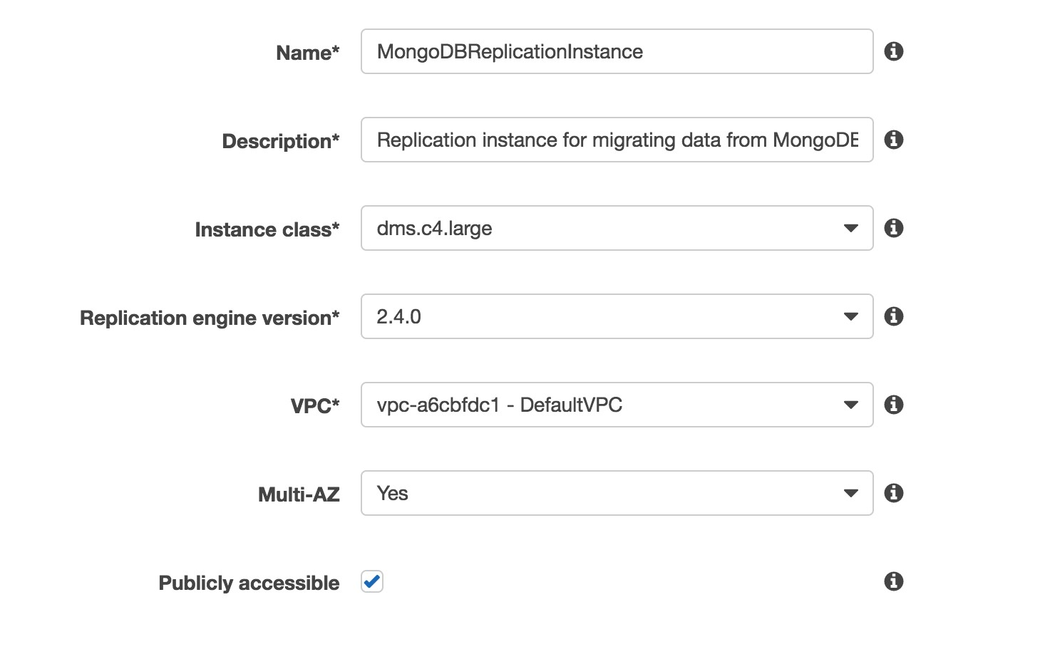 Performing a Live Migration from a MongoDB Cluster to Amazon