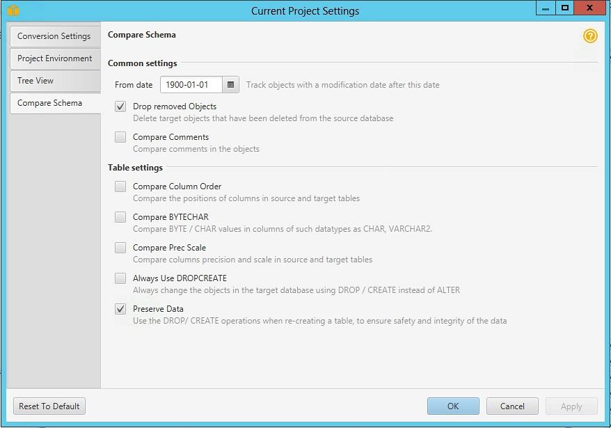 Introducing schema compare in AWS Schema Conversion Tool | Amazon Web Services