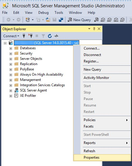 How to configure SQL Server 2017 on Amazon Linux 2 and