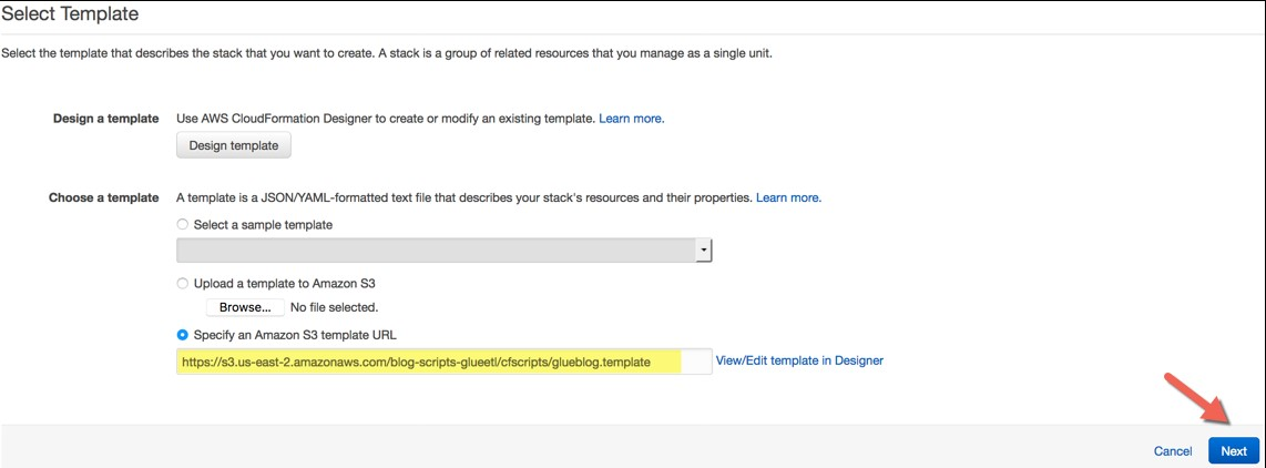 Go To The Same AWS Region Ohio Or Oregon That You Used Create Stack In Part 1 Choose Next Proceed