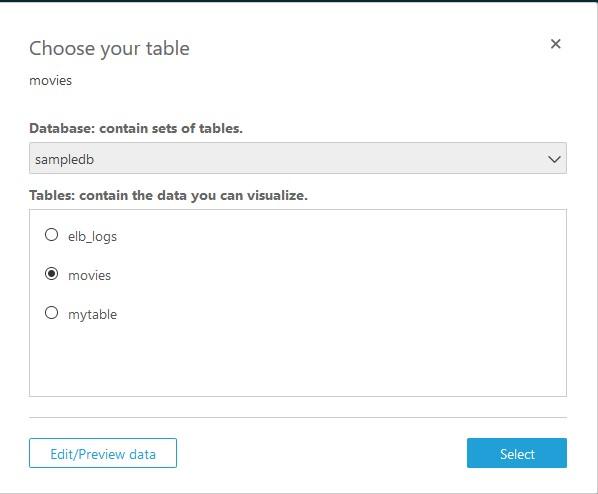 「Choose your table」ページのスクリーンショット
