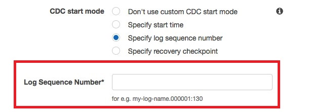 How to work with native CDC support in AWS DMS | AWS