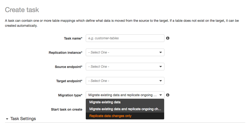 How to work with native CDC support in AWS DMS | AWS Database Blog