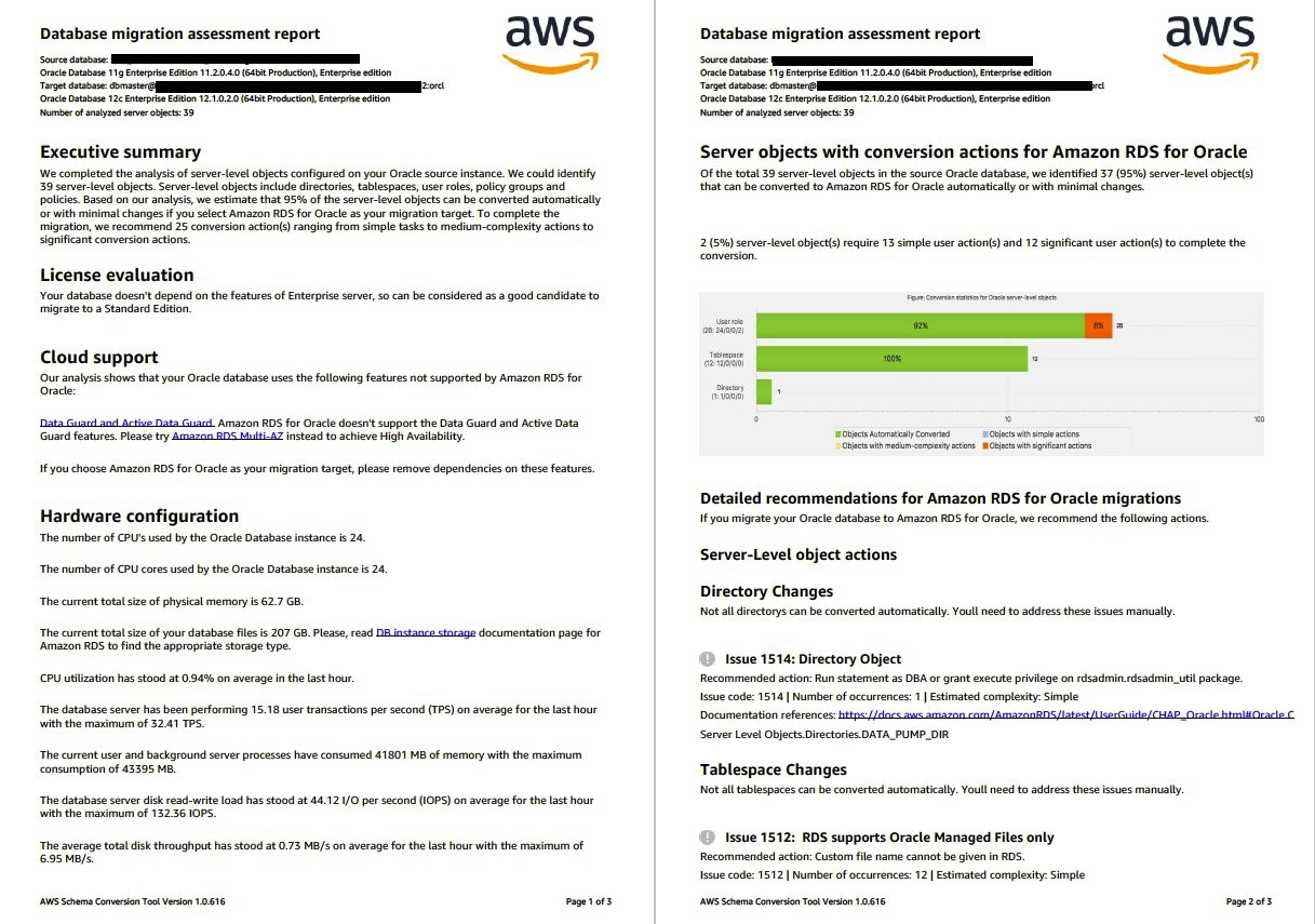 AWS Schema Conversion Tool introduces new features in build