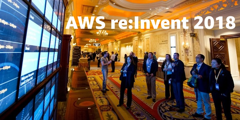 AWS re:Invent 2018 image
