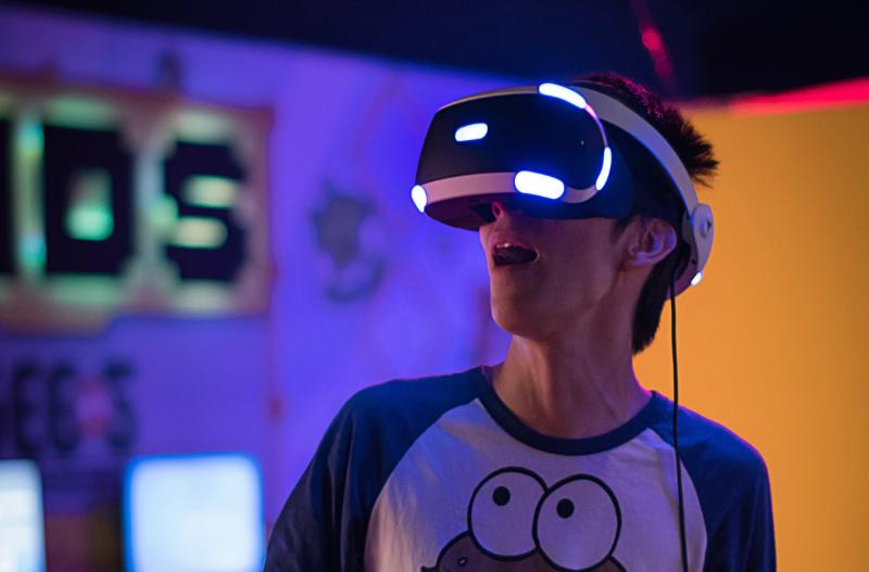 Image of VR gaming