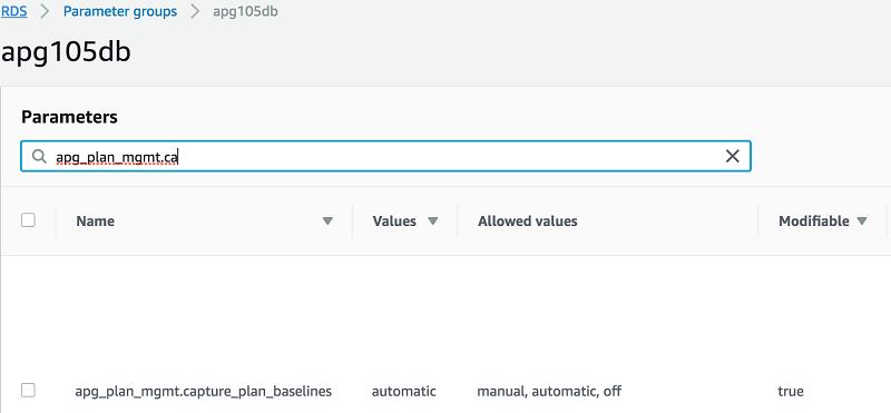 Introduction to Aurora PostgreSQL Query Plan Management