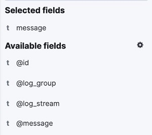 Screenshot preview of the message field selected