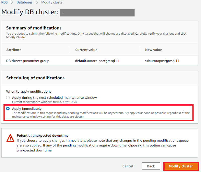 SSL connection to an Amazon Aurora PostgreSQL database from a C++ application using Visual Studio