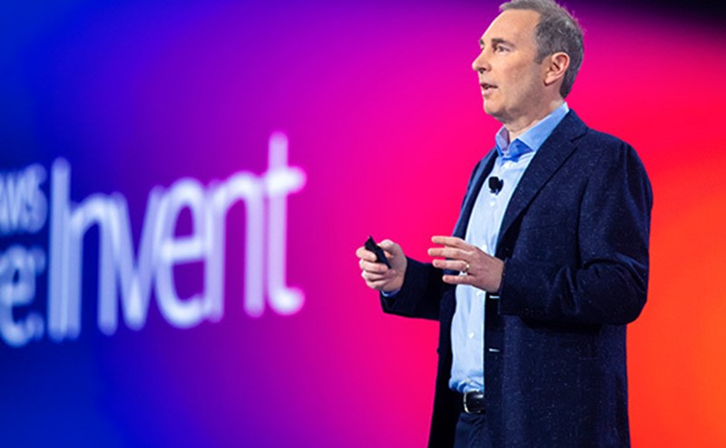 Photo of AWS CEO Andy Jassy
