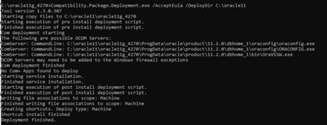 <alt_text: Legacy application deployment progress>