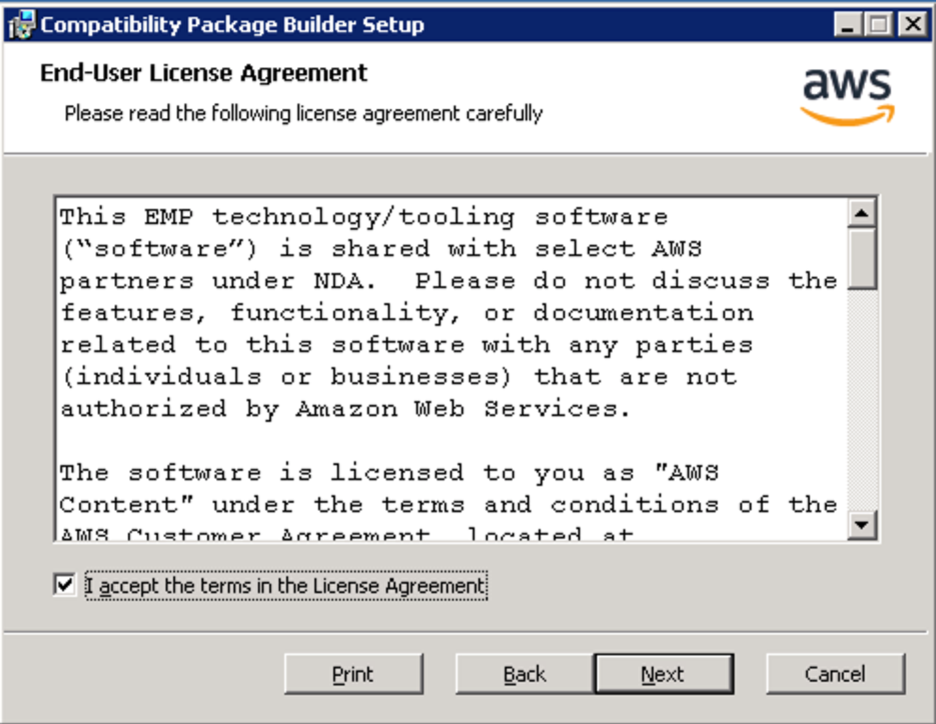 <alt_text: Read and accept the End-User License Agreement (EULA)>