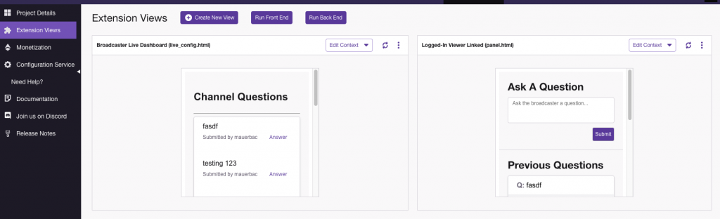 Build a Twitch Extension With an AWS Serverless Backend