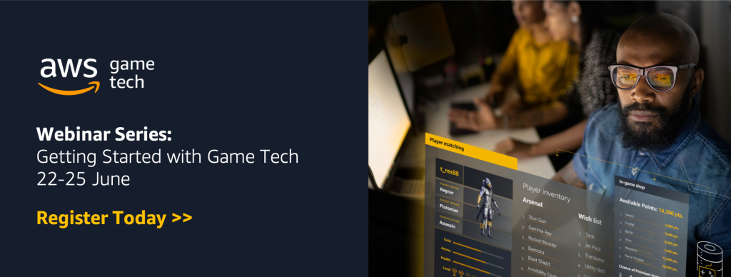 Get started with Game Tech webinar series