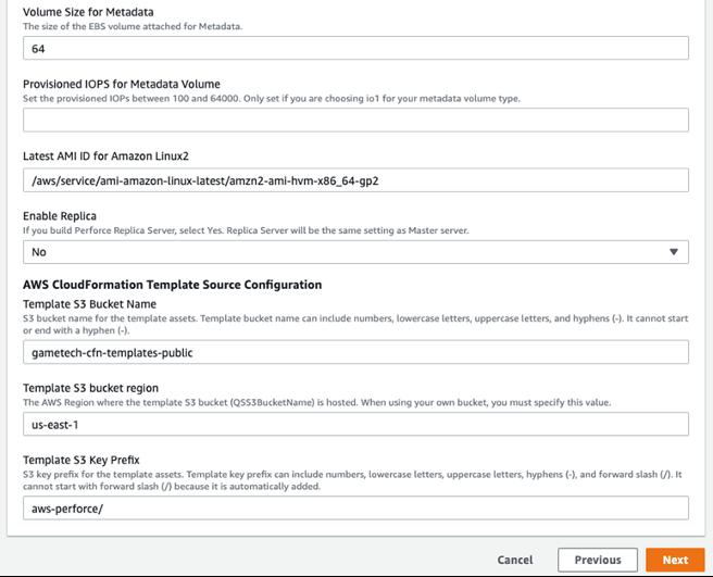 Screenshot detailing settings described in previous step 8