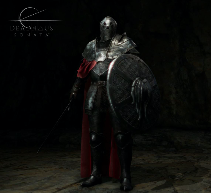 The Legionnaire character from Apocalypse Studios' Deadhaus Sonata rendered with Atom in O3DE