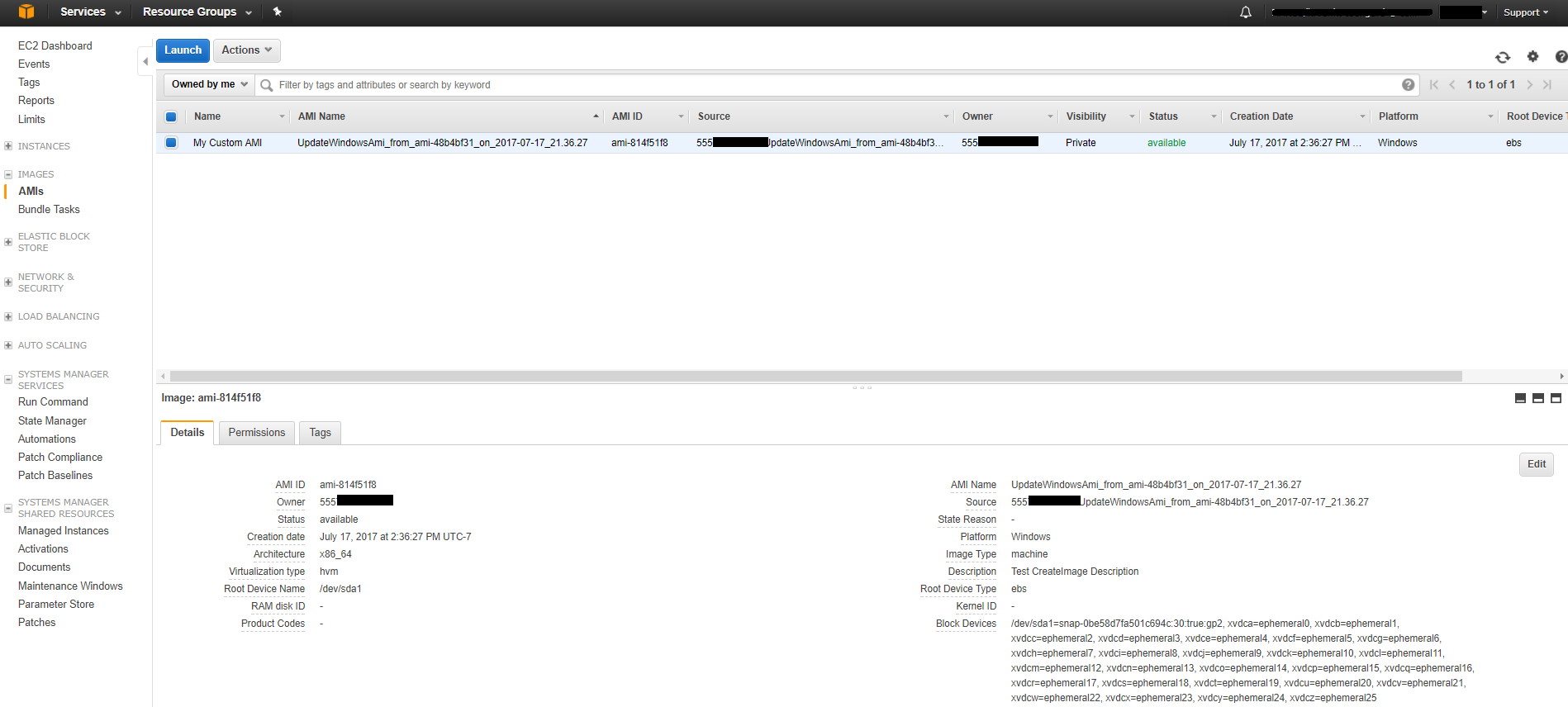 how to download ami from aws