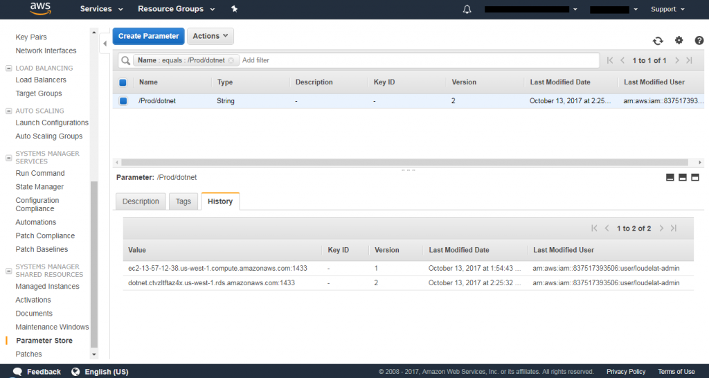 Amazon EC2 Systems Manager Parameter Store adds support for