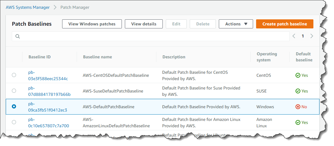 Patching your Windows EC2 instances using AWS Systems