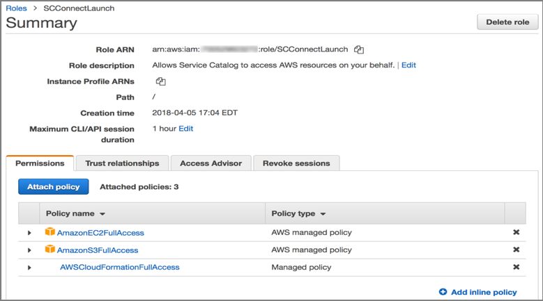 How to install and configure the AWS Service Catalog