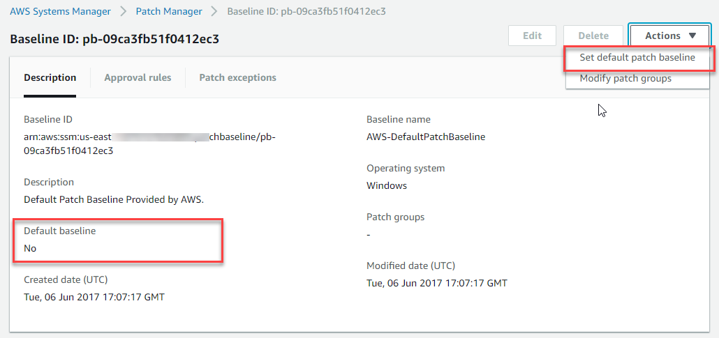Patching your Windows EC2 instances using AWS Systems Manager Patch