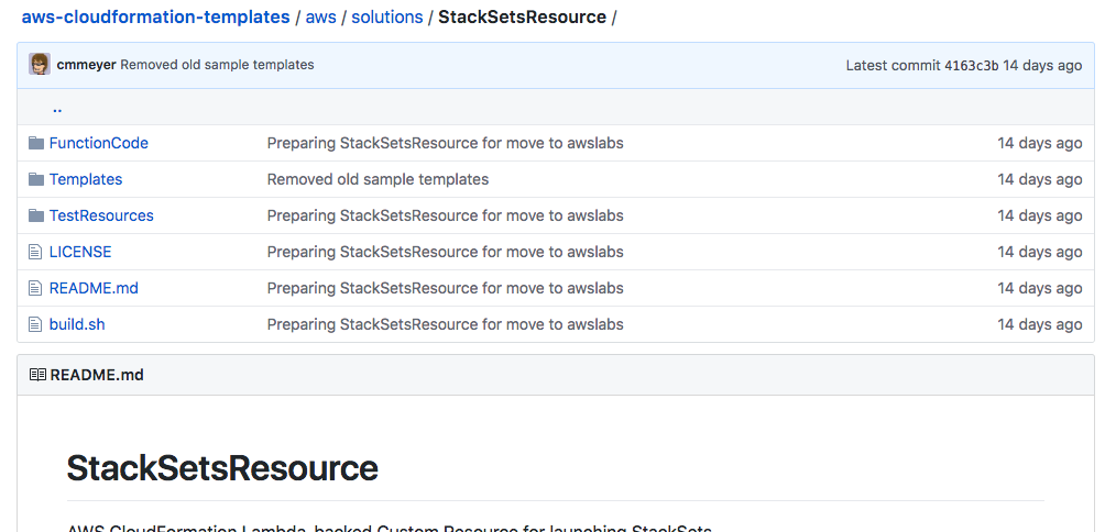 Building an AWS CloudFormation custom resource to manage StackSets