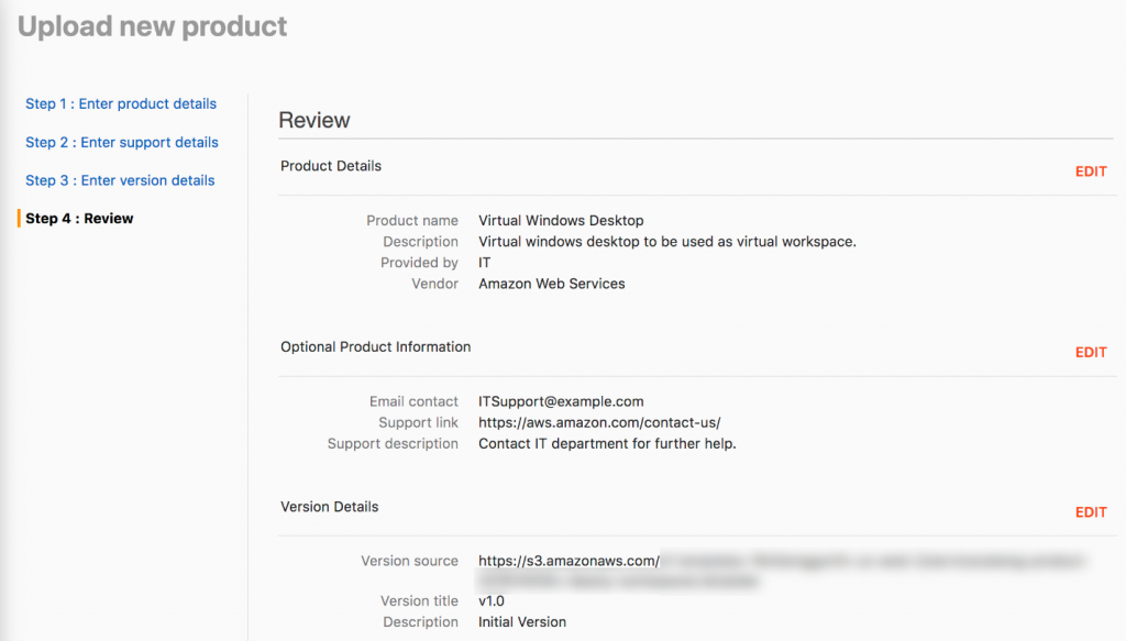 Screenshot - upload new product review page