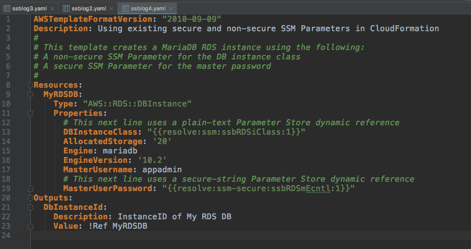 Using Aws Systems Manager Parameter Store Secure String Parameters