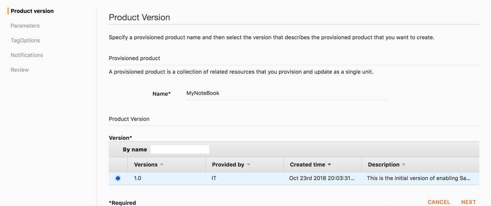 Enable self-service, secured data science using Amazon