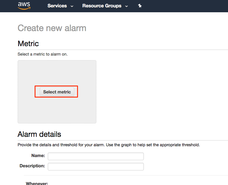 Create a metric math alarm using Amazon CloudWatch | AWS ...