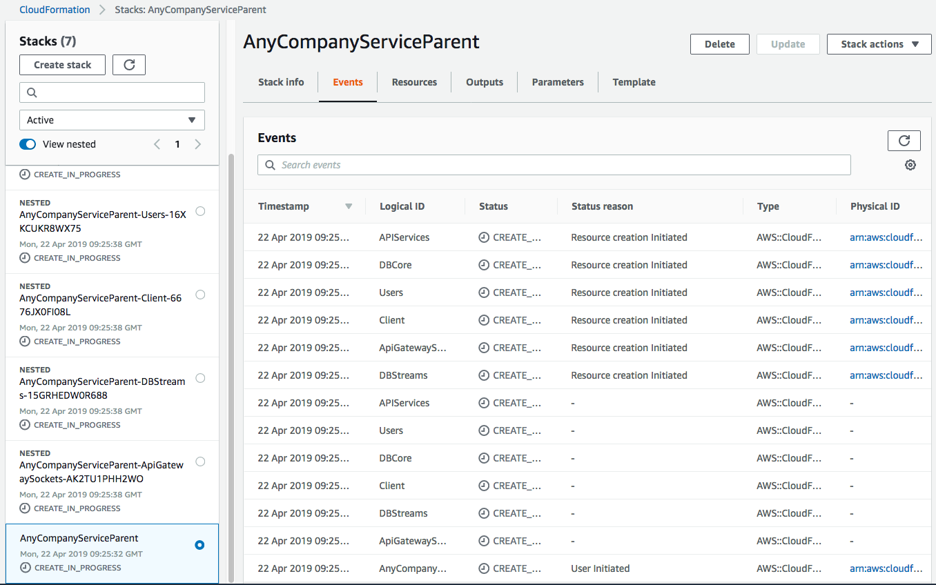 Management Tools – AWS Feed