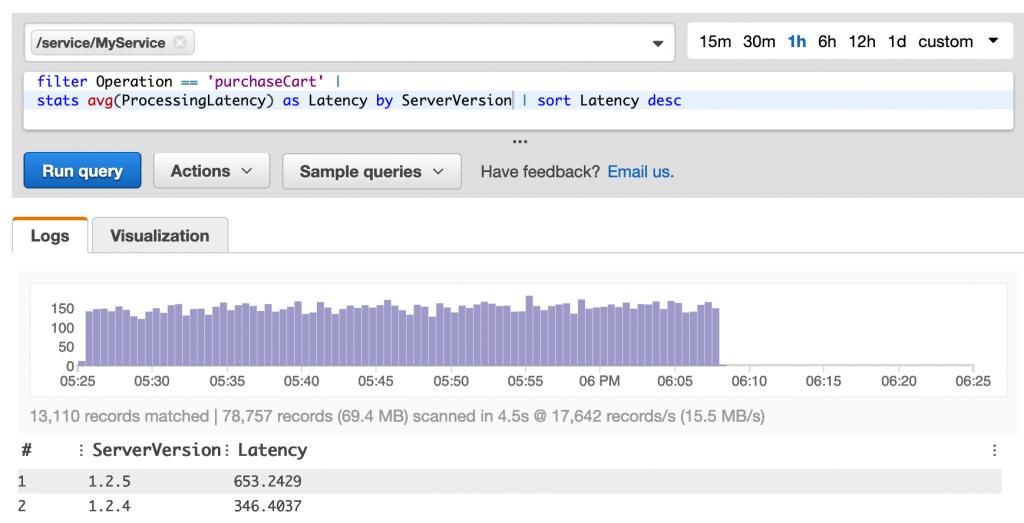 ServerVersion latency