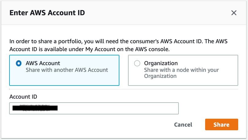 AWS account ID