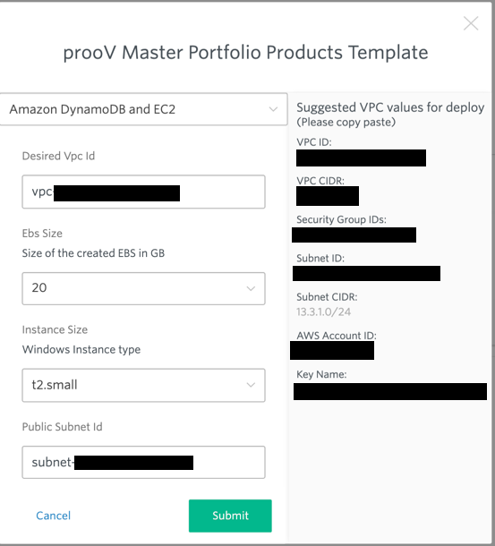 proov products template